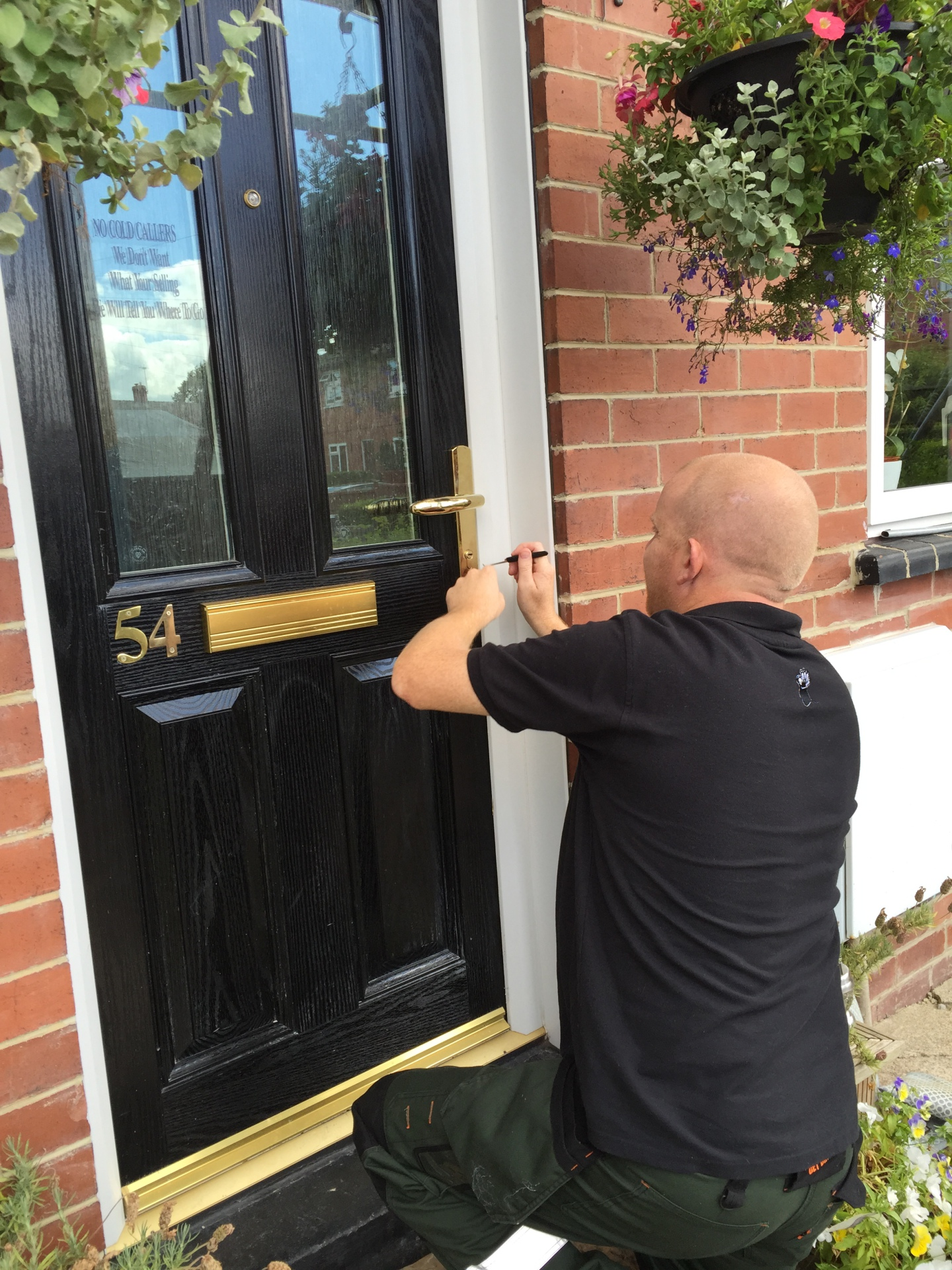 Non Destructive Gain Entry